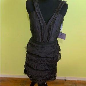Vera wang lavender cocktail dress